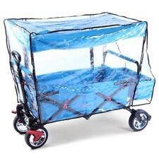FUXTEC Regenschutz transparent für Bollerwagen CT500 Luftschutz Winterschutz