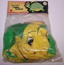 Tommy Tortoise Inflatable Blow up Turtle Sealed in Package Vintage