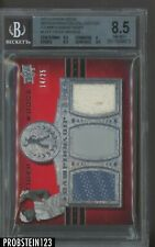 2013 Upper Deck Master Golf Championship Gear Tiger Woods Patch 14/25 BGS 8.5