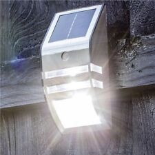 SOLAR POWERED PIR MOTION SENSOR 2 IN 1 INTELLIGENT STANDBY COURTESY LIGHT