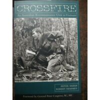 Australian 5 RAR Recon Unit in Vietnam War CROSSFIRE NEW BOOK Scarce Account