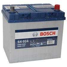 BOSCH S4 024 60Ah 12V PREMIUM Autobatterie Starterbatterie wartungsfrei *NEU*