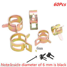 Car Spring clip Fuel Oil Line Silicone Vacuum Hose Clamp Fastener 6-15mm 6 Sizes