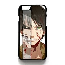 Attack on Titan Hard Plastic Phone Case Cover For iPhone 4s 5/5s/SE 5c 6/6s Plus