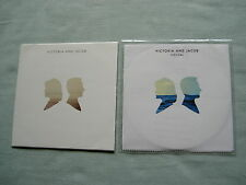 VICTORIA AND JACOB job lot of 2 promo CD album/single Festival (Remixes)