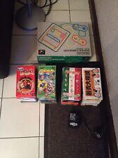 Lot Console Super Famicom + 24 Jeux Complet En Tres Bon Etat Rare!!!