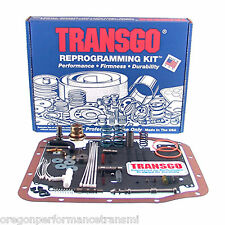 Transgo AODE-3 Full Manual Shift Kit 4R70W 4R75W 4R75E Ford Transmission 4R70E