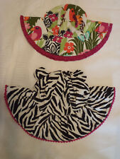 Gymboree Wild For Zebra 0-12 Month or 2T-3T Sun Hat Choice NWT Summer