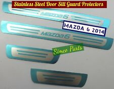 MAZDA 6 Stainless Steel Door Sill Guard Protectors for 2014, 2015, 2016
