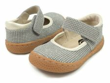 NIB LIVIE & LUCA Shoes  Emma Sparkle Gray Pebble Glitter toddler 4