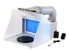 Portable airbrushing spray booth & extractor E420 with extraction kit