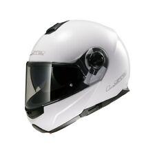 Casco De Moto LS2 FF325 STROBE talla única:XL (61) Blanco Casco plegable