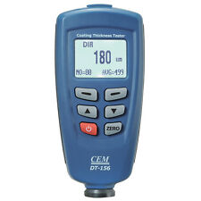CEM DT-156 Car Metal Paint Coating Thickness Tester Meter Gauge