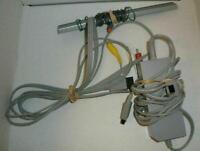 Official Nintendo Wii Power Cord AC Adapter + Sensor Bar + AV Cable Set
