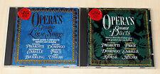 2 CD SAMMLUNG KLASSIK RCA RED OPERA DUETS PUCCINI CABALLE DOMINGO VERDI MOZART