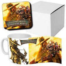 Oddworld Strangers Wrath Game - Themed - Coffee MUG CUP + Wooden Coaster