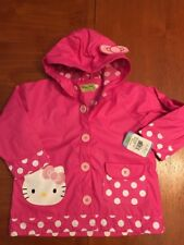 9a98abae2 Western Chief 645022-680 Little Girls Hello Kitty Cutie Dot Rain Coat 5 Pink