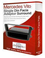 Mercedes Vito stereo radio Facia Fascia adapter panel plate trim CD surround