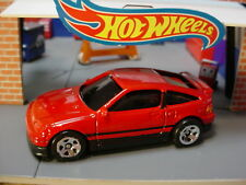'88 HONDA CRX ☆RED; 5SP☆multi case fresh☆2019 Hot Wheels LOOSE