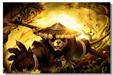 """World of Warcraft Game Online Silk Wall Poster Picture Decor 24""""x36"""" MOP056"""