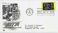 US Scott #1463, First Day Cover 9/15/72 San Francisco Single PTA