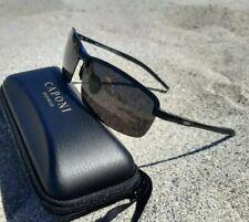 Occhiali uomo sport polarizzati rettangolari HD, UV400,Magnesio Alluminio,CAPONI