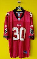 🌴 TAMPA BAY BUCS #30 CHARLIE GARNER REEBOK NFL FOOTBALL JERSEY MENS- XL