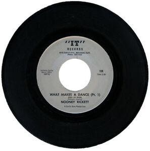 """NOONEY RICKETT  """"WHAT MAKES A DANCE (FEEL SO GOOD) PT 1"""" 1967 NORTHERN SOUL"""