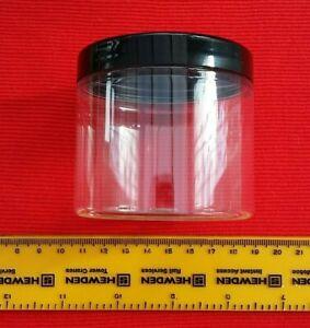 200ml Small plastic storage container/jar/tub/pot, screw top lid 10,20 & 40