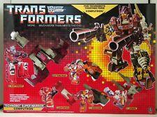 Transformers Reissue G1 Technobots『Computron』Giftbox Set MISB