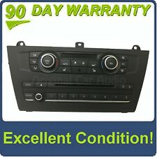 2011 - 2016 BMW X3 X4 OEM Radio Control Panel Dual Zone Climate Control Panel