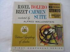 AUDIO FIDELITY LP RAVEL BOLERO BIZET CARMEN VIRTUOSO SYMPHONY LONDON RARE