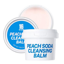 16 BRAND Peach Soda Cleansing Balm