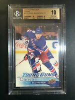 2016-17 Upper Deck Pavel Buchnevich Young Guns Canvas Rookie BGS 10