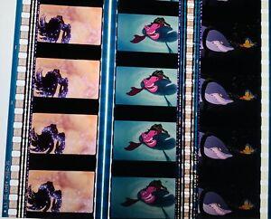Disneys 1989 The Little Mermaid Rare Unmounted 35mm Film Cells p7