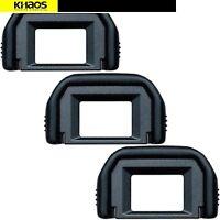 [3-Pack] Eyepiece Eyecup EF Replacement for CANON 650D 550D 500D 750D 700D 600D