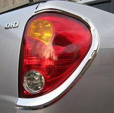 Chrome Rear light surrounds for Mitsubishi L200 06-09 Animal pickup tail lamp
