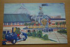 Warner Bros Thurrock Store Grand Opening Cartoon Advert Colour Postcard Unused
