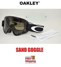 OAKLEY® O-FRAME® XS YOUTH KIDS GOGGLES SAND MX ATV MOTOCROSS DARK TINT + CLEAR