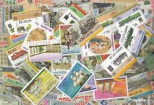 St. Lucia 300 diversi Francobolli
