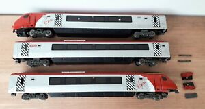 Bachmann Virgin Voyager Bombardier Class 220 3 car set for spares or repairs 00