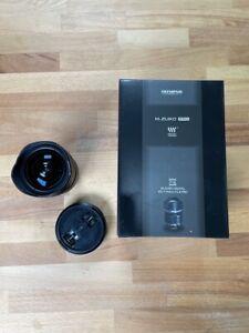 Black Olympus M.Zuiko Digital 7-14mm f2.8 Super  Wide Angle Zoom PRO