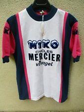 Maillot MIKO MERCIER VIVAGEL vintage 1978 shirt trikot maglia camiseta 4 L