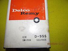 55 56 57 58 59 60 61 62 NOS International Delco 11119906 D-955 Starter Solenoid