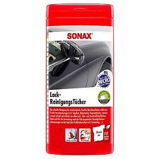 SONAX Lack Reinigugstücher Lackpflege Pflege Tücher LackReinigungstücher 15x