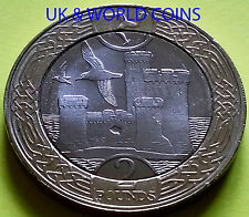 IOM Manx Brand New Slightly Circulated TOWER OF REFUGE £2 Coin