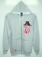 Adidas NEW Mens Varsity Vintage Full Zip Hoodie Jacket 023812 Medium M $55