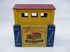 MATCHBOX LESNEY SERIES 3 accessory pack GARAGE car toy