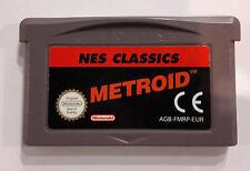 [ GBA ] Metroid Nes Classics Usato Solo Cartuccia Gameboy Advance AGB-FADP-EUR