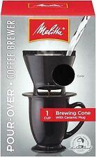 Joe Mug Coffee Makers Brewer Ready Set Single Cup Brewer Coffeemaker Black 12 Oz